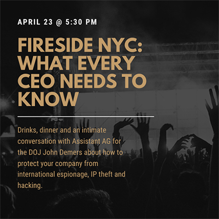 Join us in FiReSide in New York